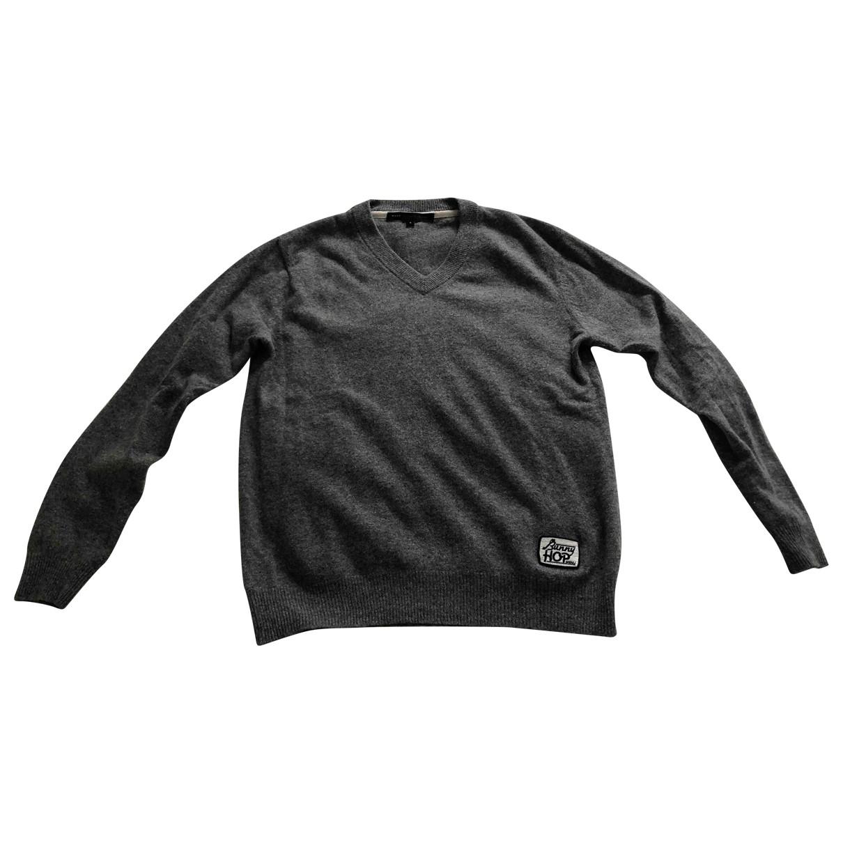 Marc By Marc Jacobs \N Pullover.Westen.Sweatshirts  in  Grau Wolle