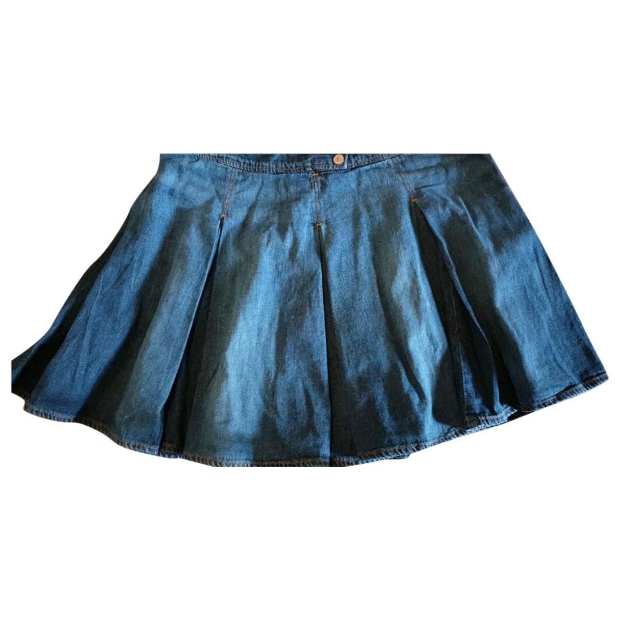D&g - Jupe   pour enfant en denim - bleu
