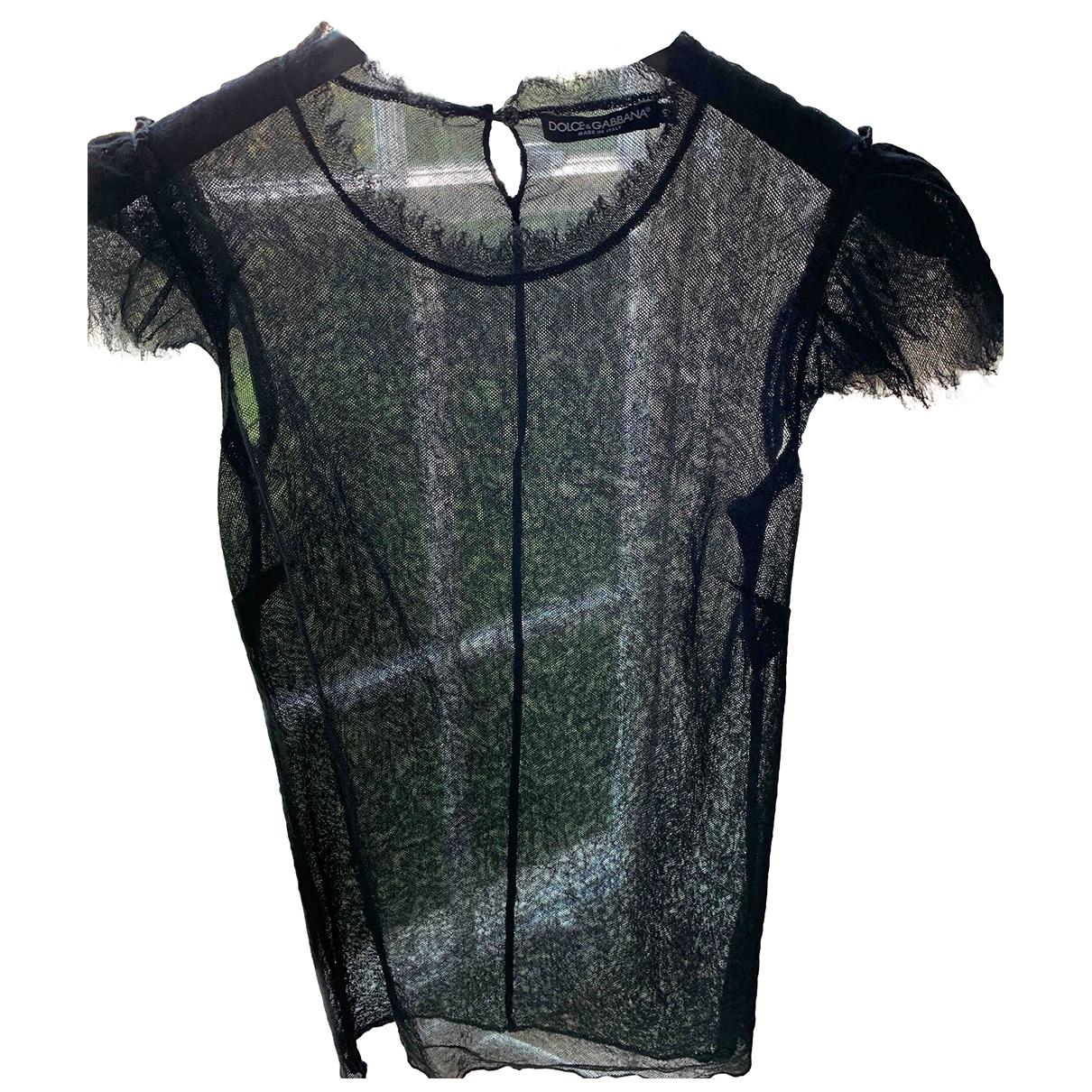 Dolce & Gabbana \N Black  top for Women 40 IT