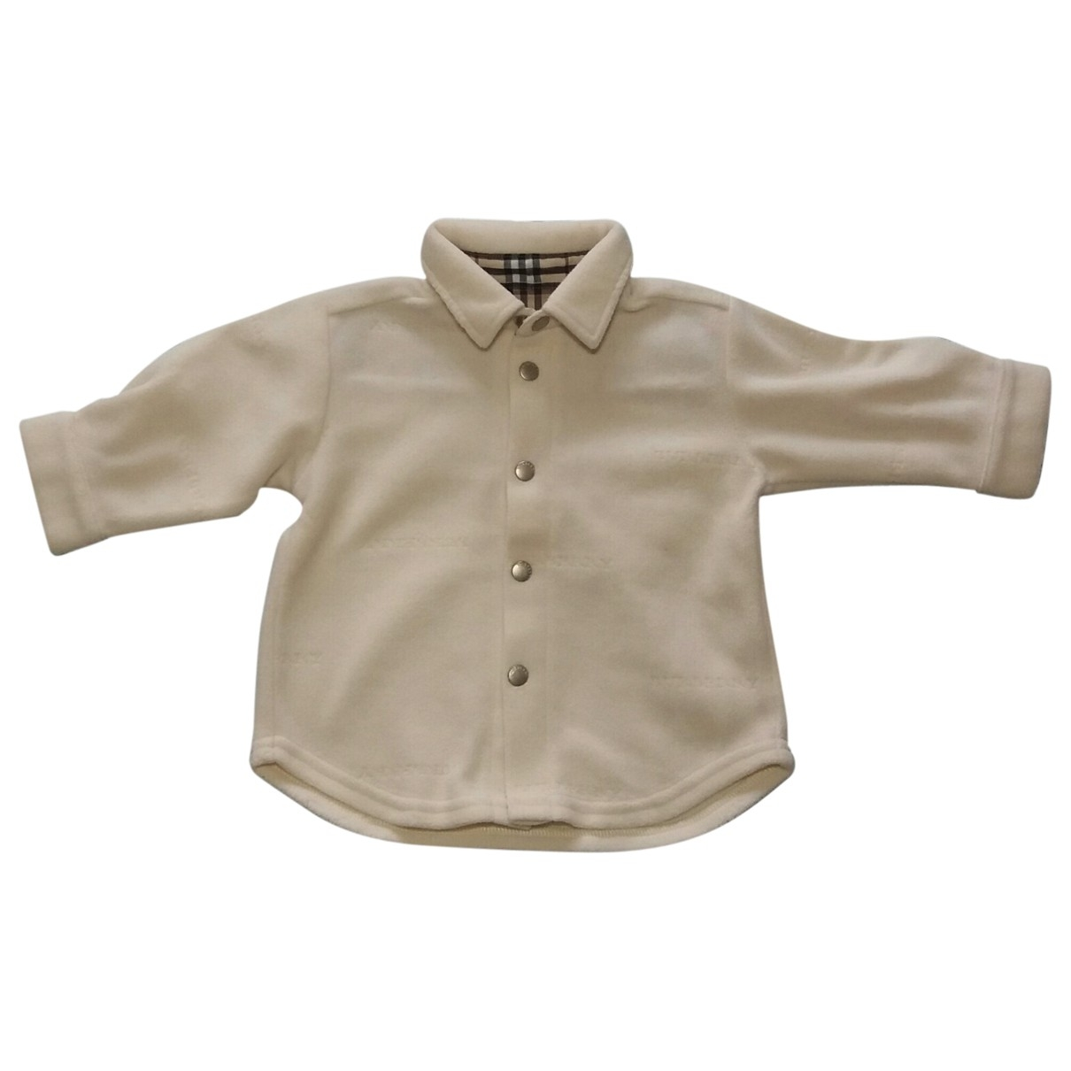 Burberry \N Ecru Cotton  top for Kids 3 months - until 24 inches UK