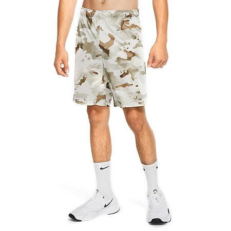 Nike Mens Moisture Wicking Pull-On Short, Medium , Brown
