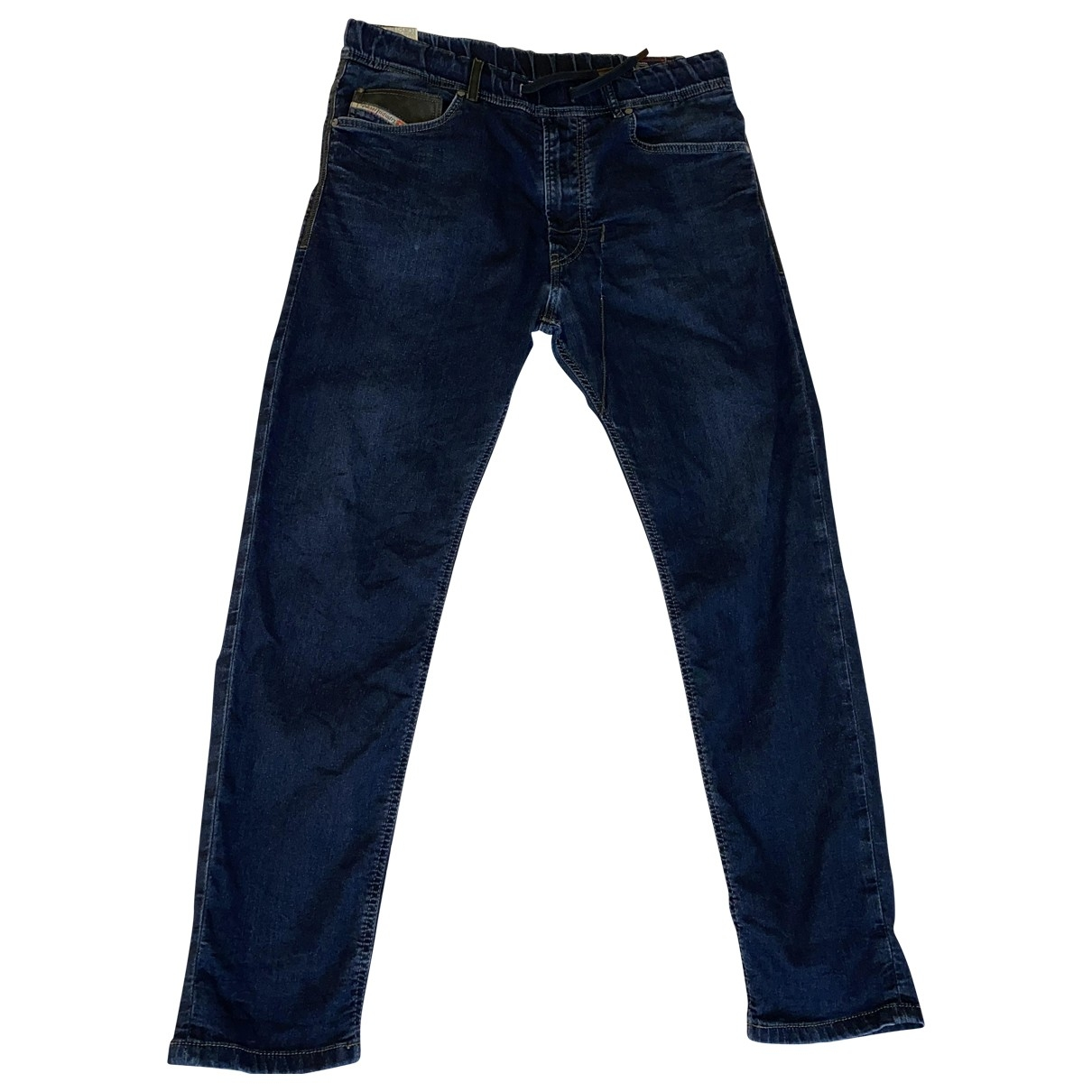 Diesel \N Blue Cotton - elasthane Jeans for Men 31 US