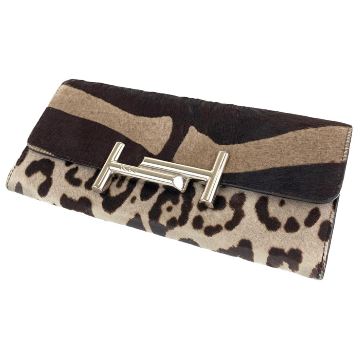 Tods - Portefeuille   pour femme en cuir
