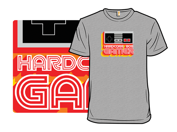 Hardcore 80s Gamer T Shirt