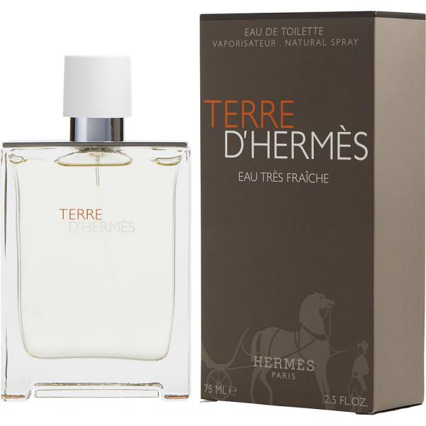 Terre dHermes Eau Tres Fraiche - Hermes Eau de Toilette Spray 75 ML