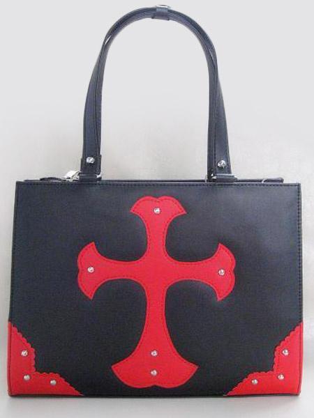 Milanoo Embossed PVC Lolita Bag