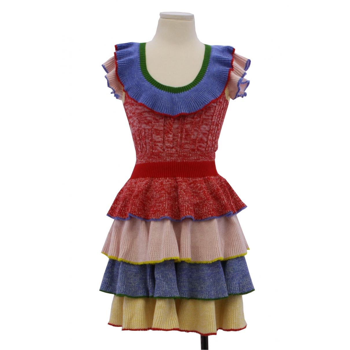 Mini vestido de Lana Alexander Mcqueen