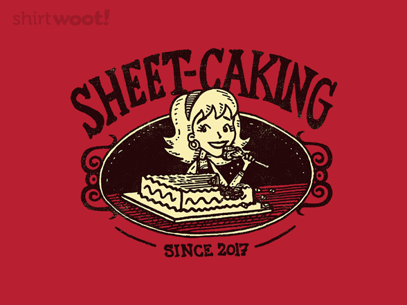 Sheet Caking T Shirt