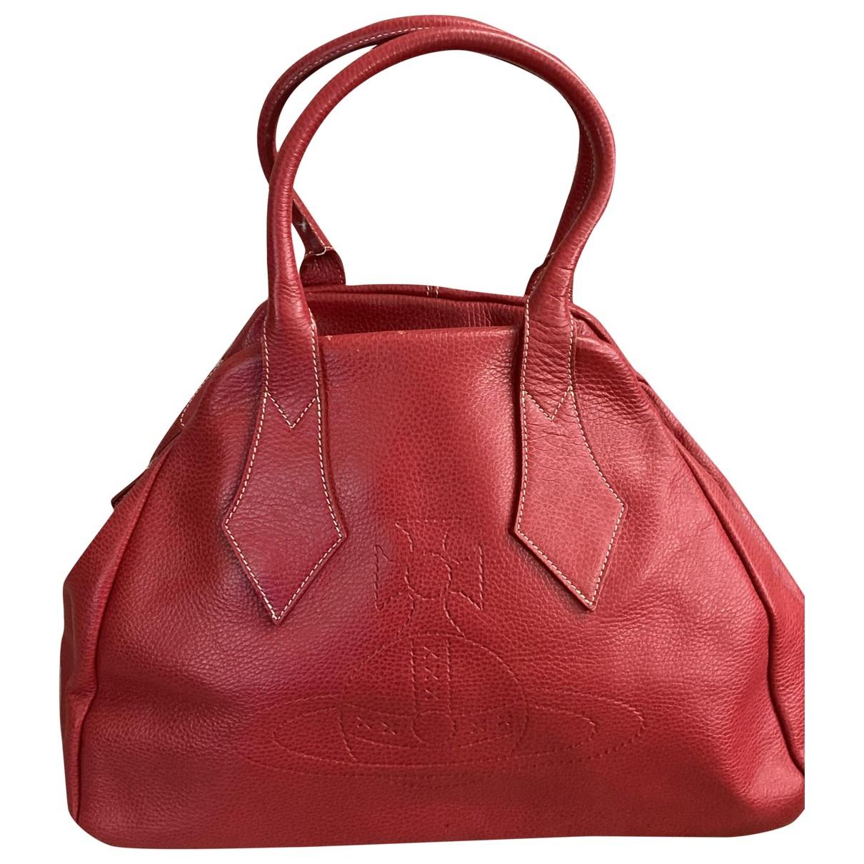 Vivienne Westwood \N Red Leather handbag for Women \N