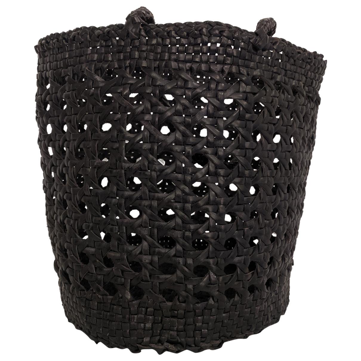 Dragon Diffusion \N Handtasche in  Schwarz Leder