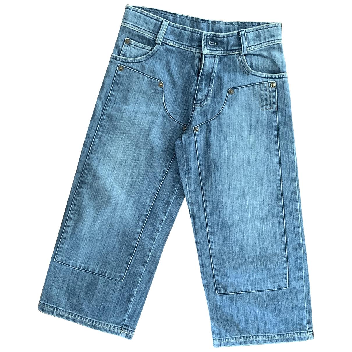 Dior - Pantalon   pour enfant en denim - bleu