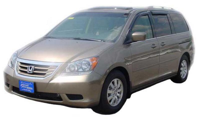 AVS 94083 Ventvisor Outside Mount Window Deflectors 4pc - Smoke Honda Odyssey 2008-2010