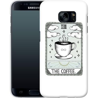Samsung Galaxy S7 Smartphone Huelle - The Coffee von Barlena