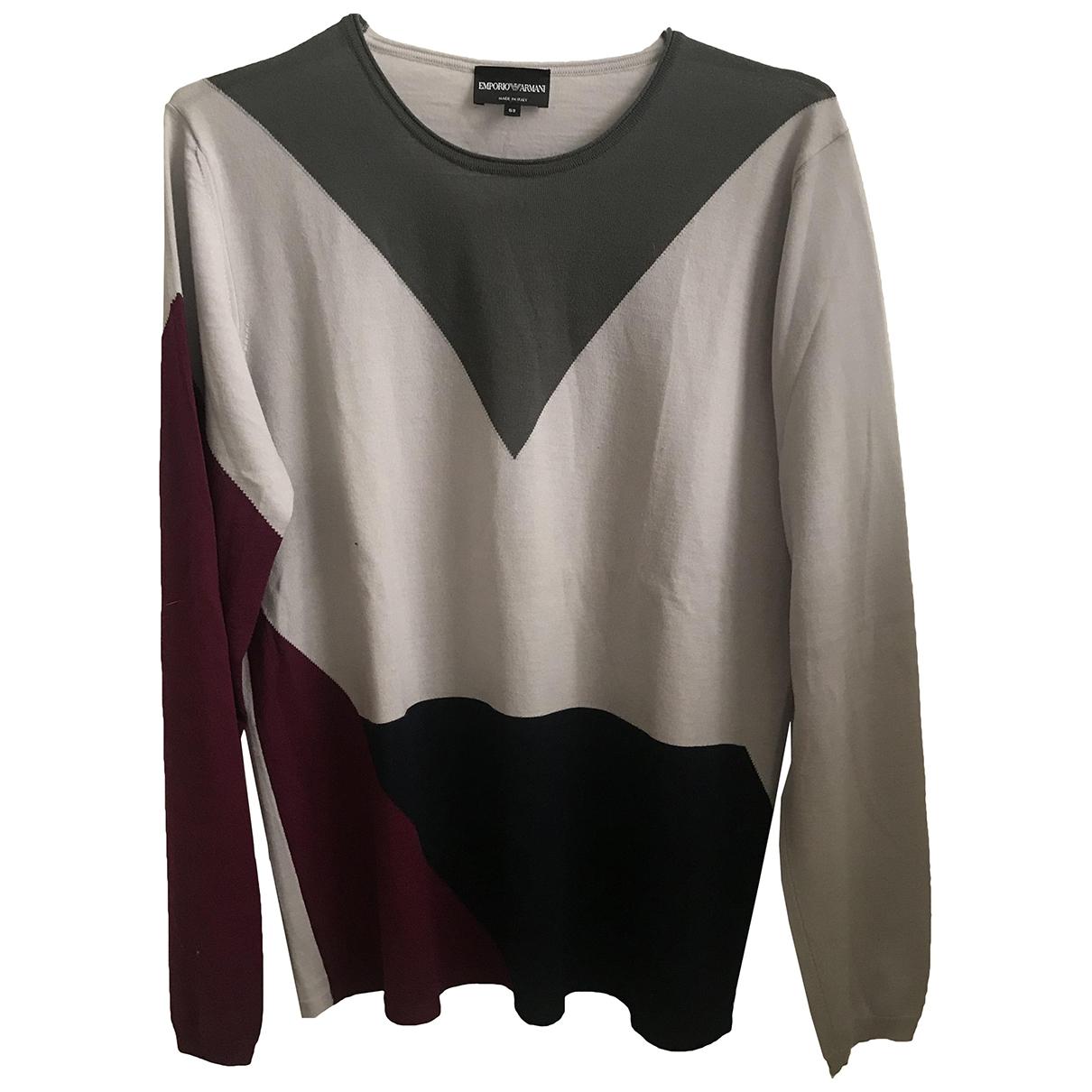 Emporio Armani - Pulls.Gilets.Sweats   pour homme en laine