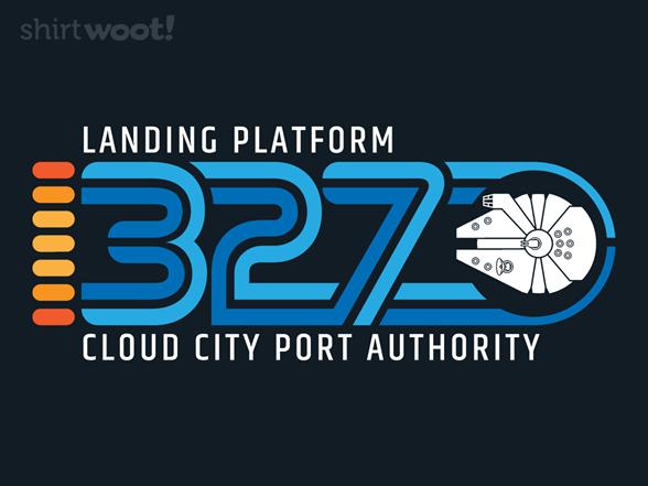 Landing Platform 327 T Shirt
