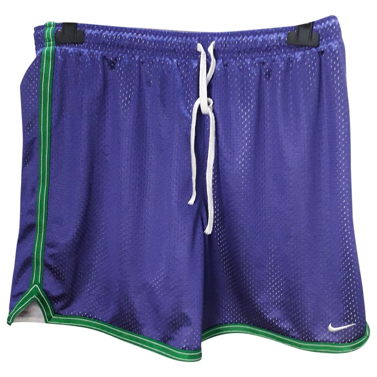 Nike \N Shorts in  Lila Synthetik