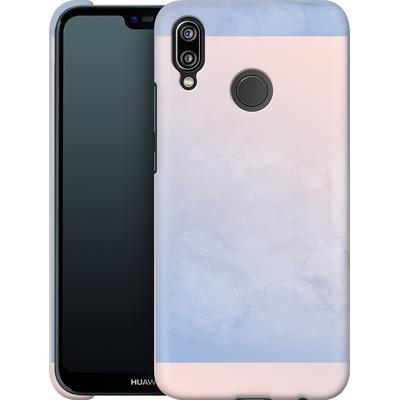 Huawei P20 Lite Smartphone Huelle - Serenity Rose Quartz Geometry von Emanuela Carratoni