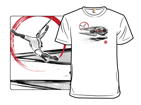 Confrontation In The Desert T Shirt