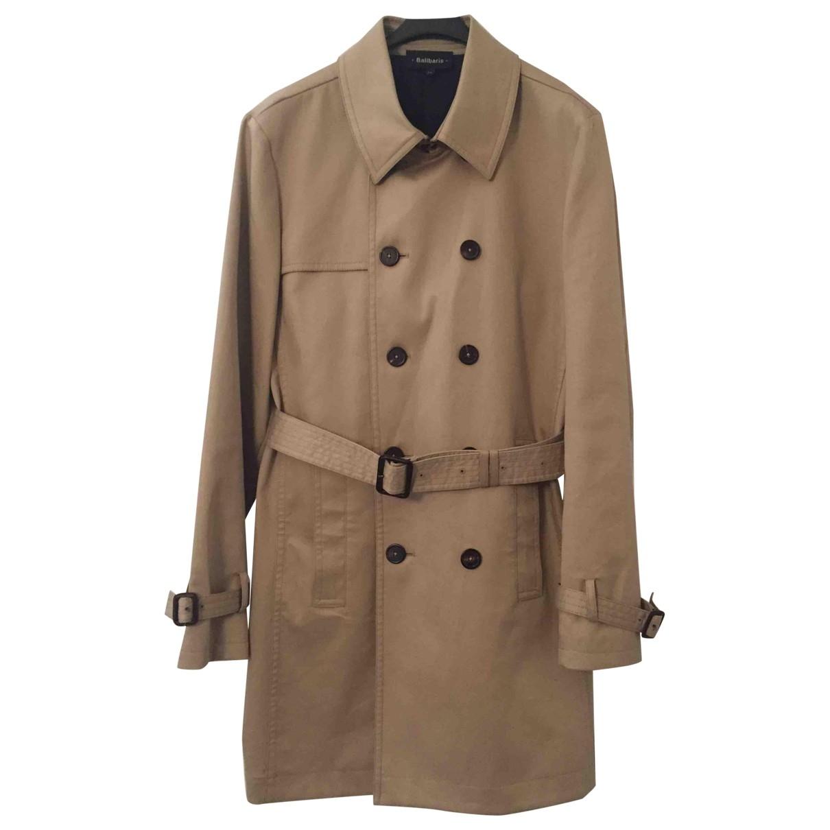 Balibaris - Manteau   pour homme en coton - beige