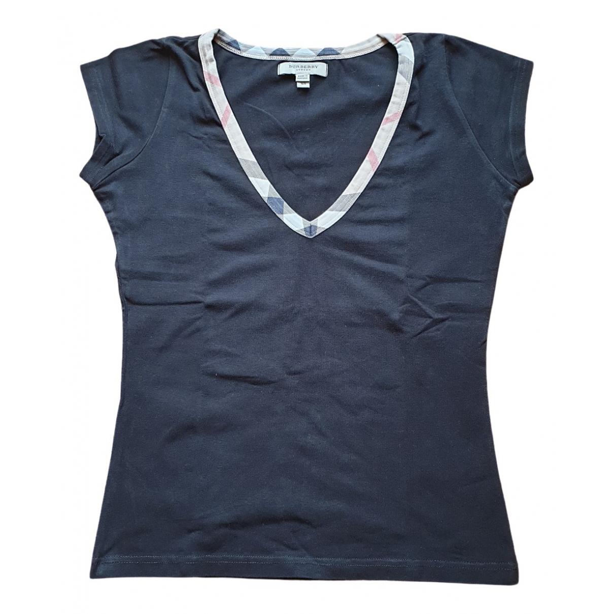 Burberry \N Black Cotton  top for Women 36 IT