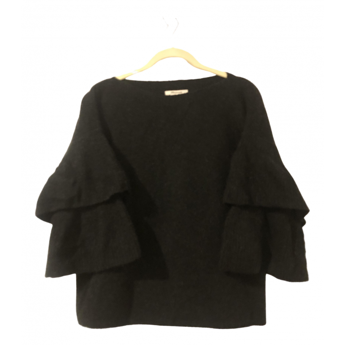 Madewell - Pull   pour femme en laine - anthracite
