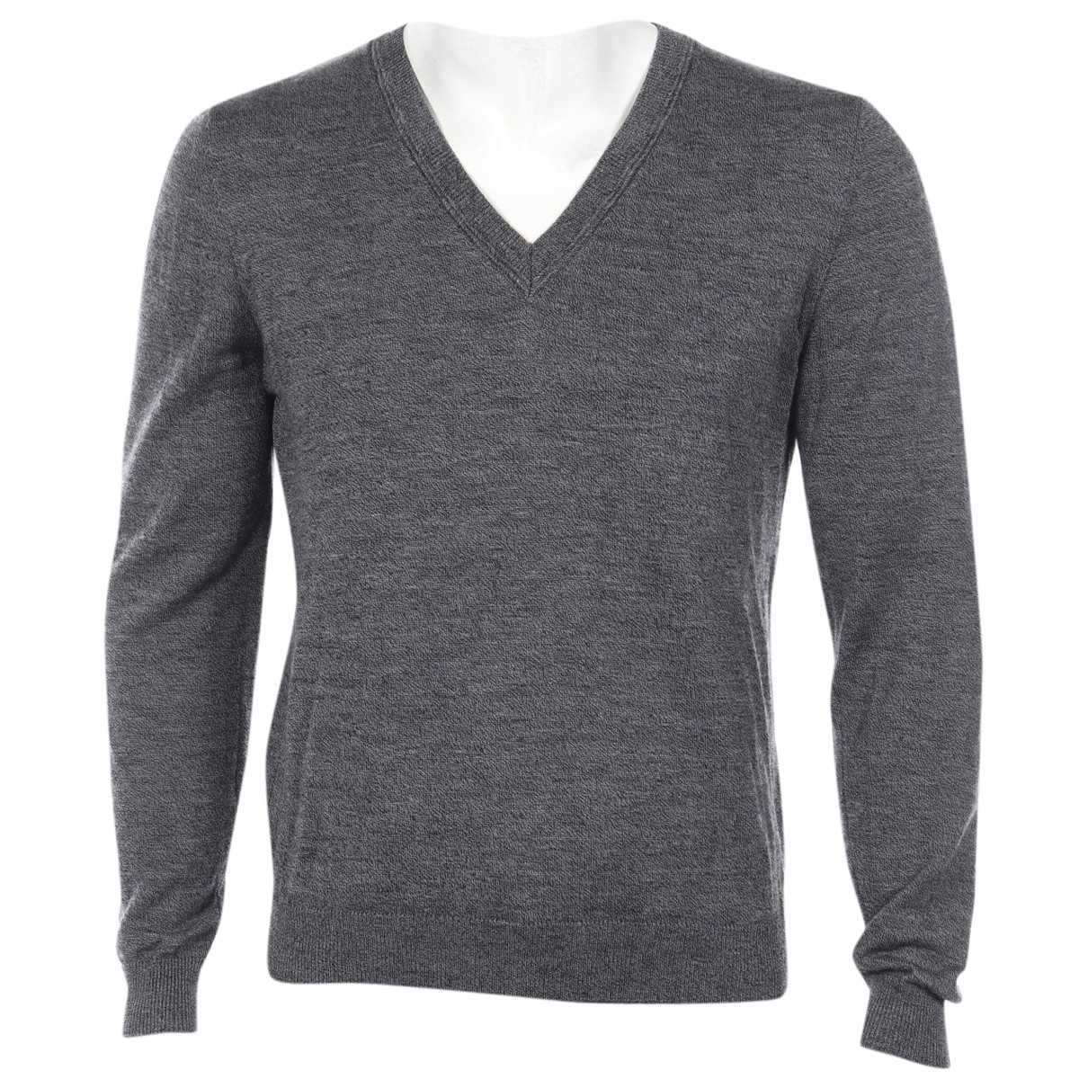 Sandro \N Pullover.Westen.Sweatshirts  in  Grau Wolle