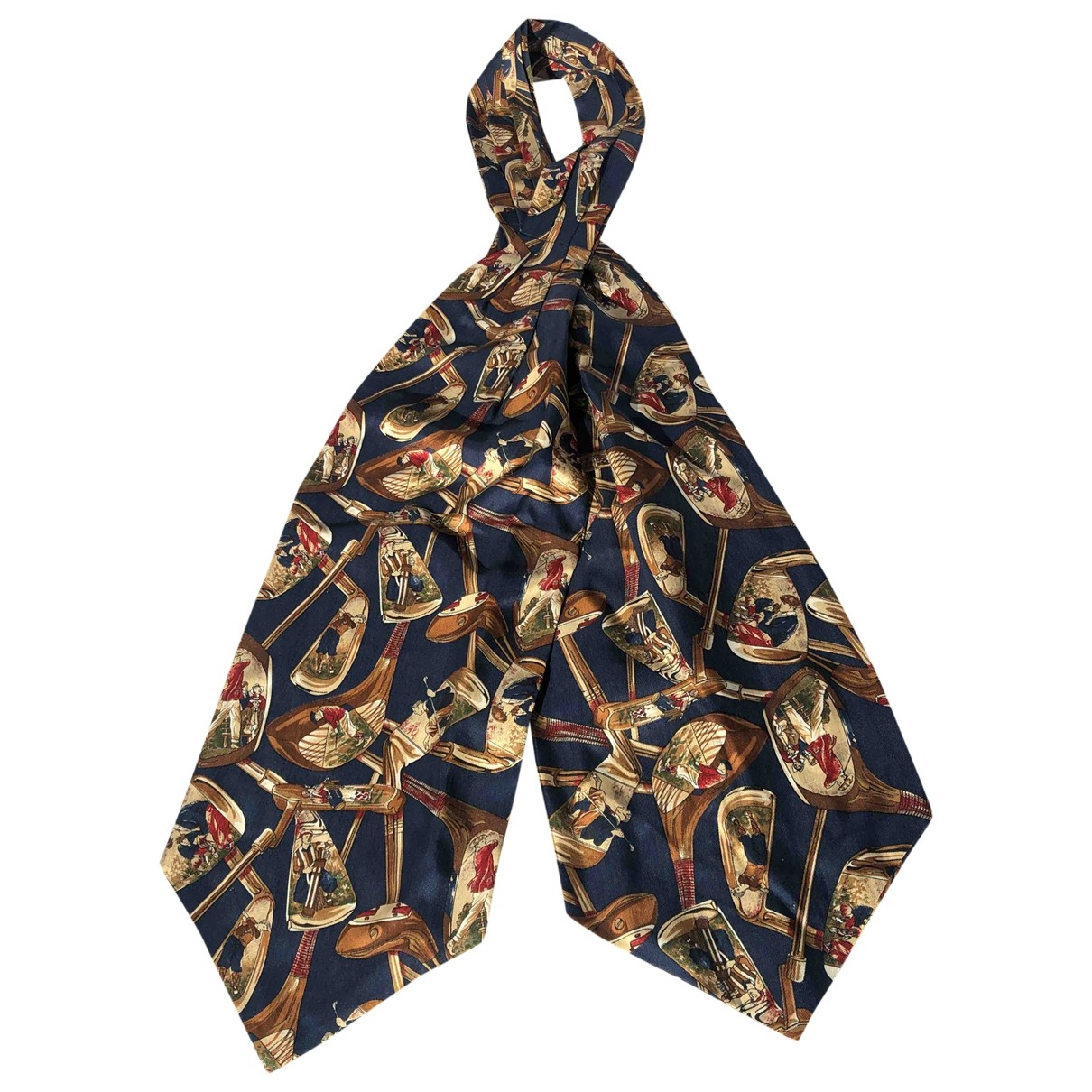 Non Signé / Unsigned \N Silk scarf & pocket squares for Men \N