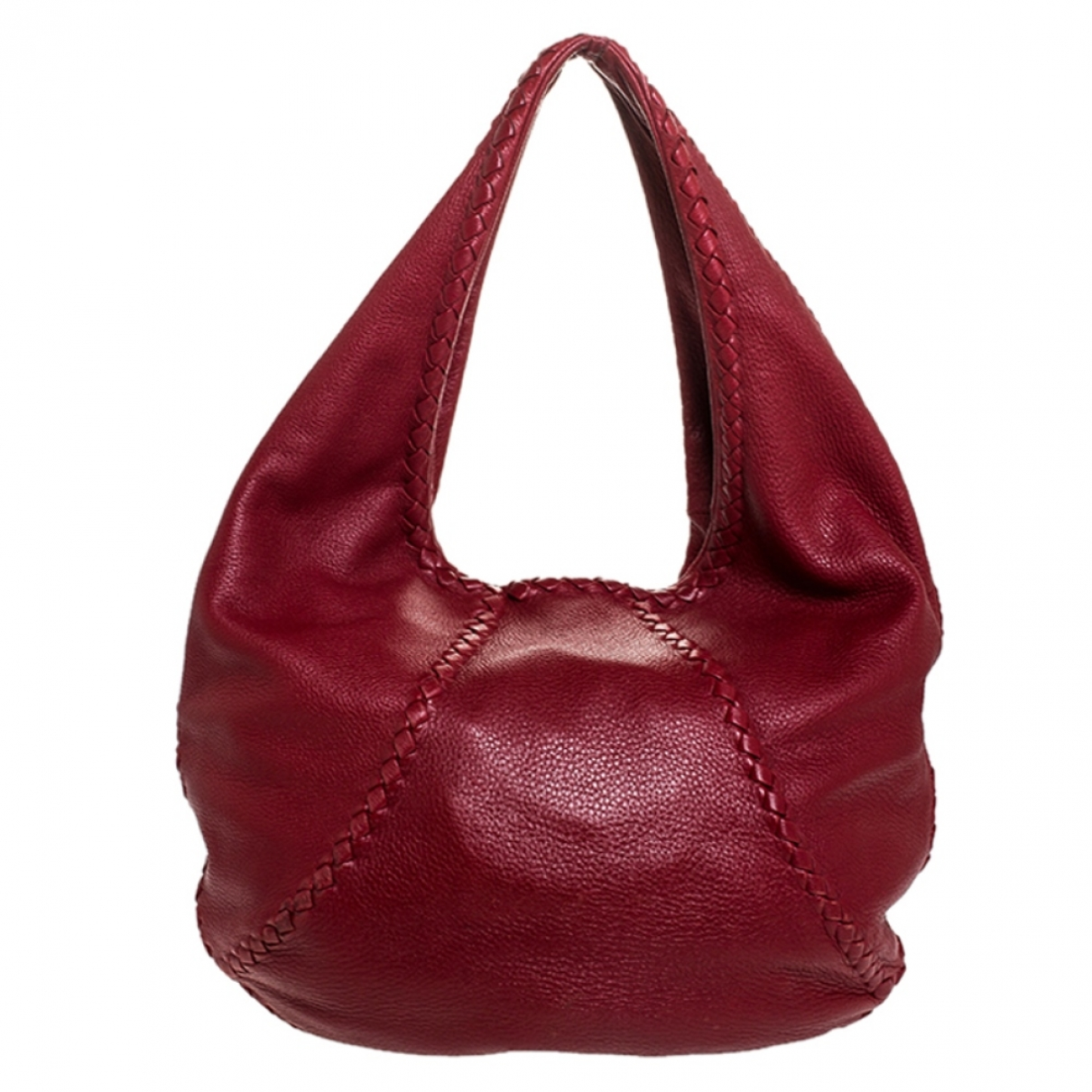 Bottega Veneta Veneta Red Leather handbag for Women \N