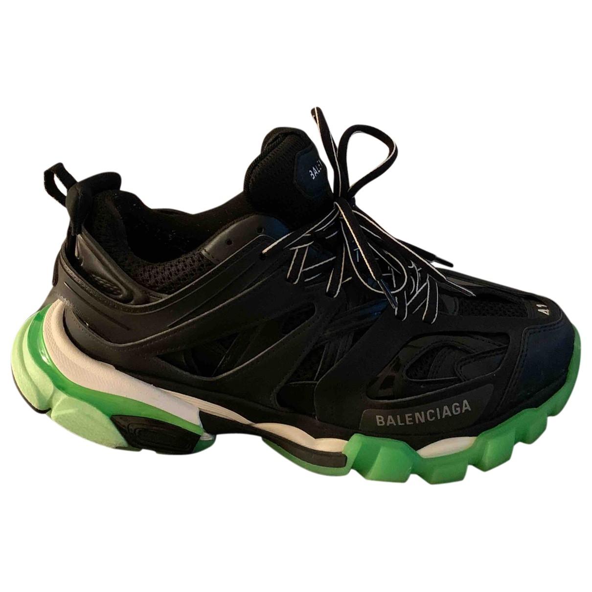 Balenciaga - Baskets Track pour homme en caoutchouc - noir