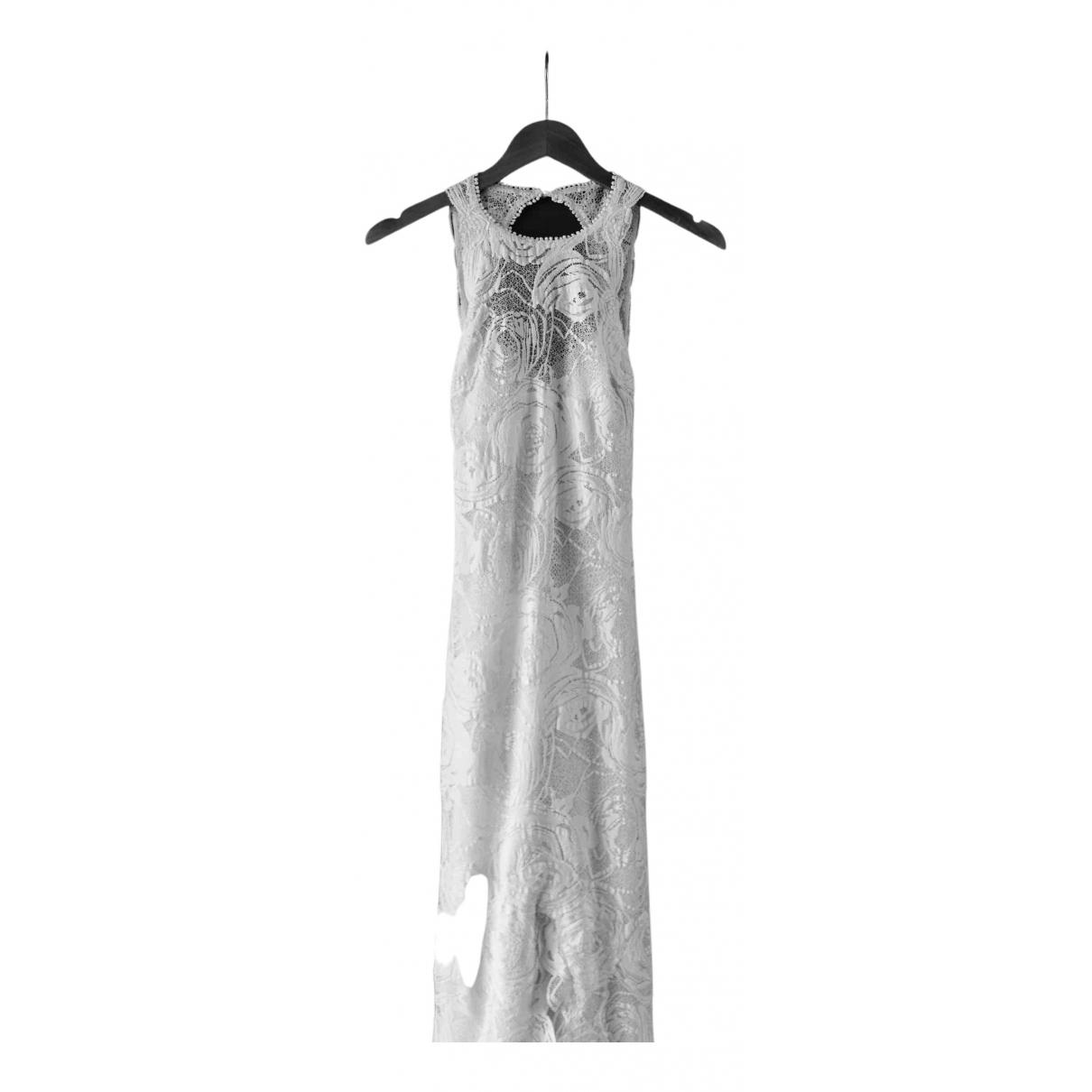 Grace Loves Lace \N Kleid in  Weiss Spitze