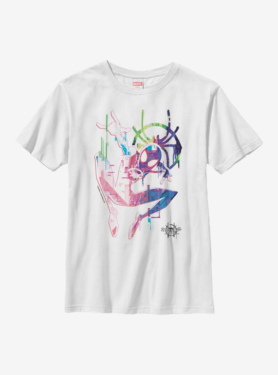 Marvel Spider-Man: Into The Spiderverse Water Spidey Youth T-Shirt