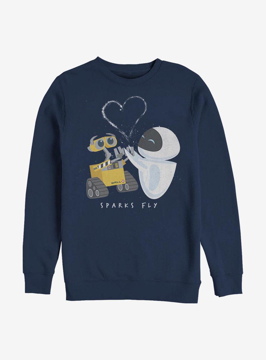 Disney Pixar WALL-E Sparks Fly Sweatshirt