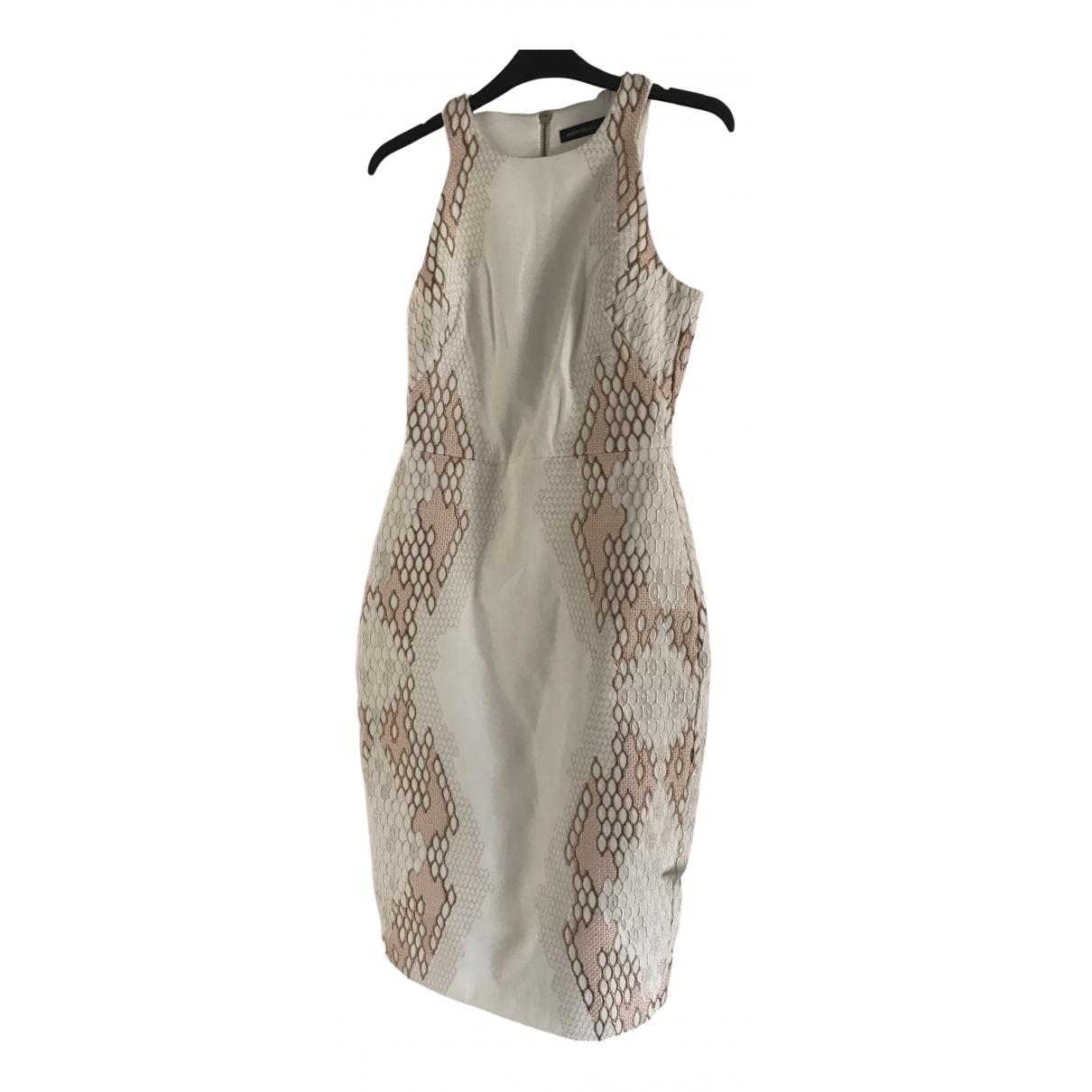 Karen Millen \N Kleid in  Weiss Synthetik