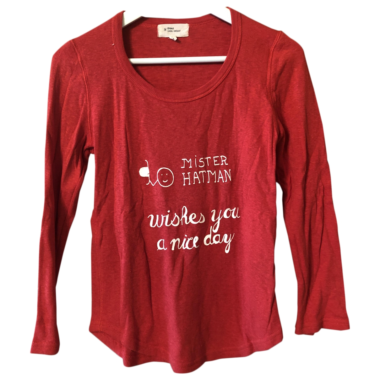 Isabel Marant Etoile \N Red Cotton  top for Women M International