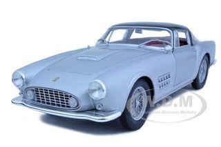 Ferrari 410 Superamerica Silver 1/18 Diecast Car Model by Hotwheels