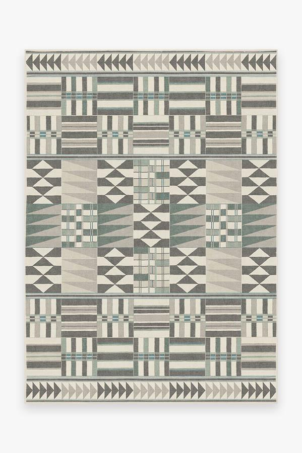 Washable Rug Cover   Obi Abalone Rug   Stain-Resistant   Ruggable   5'x7'