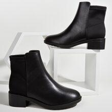 Minimalistische Stiefel