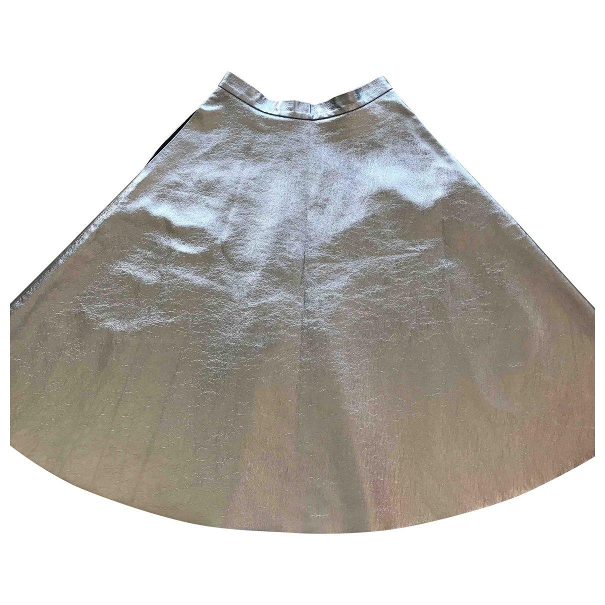 Msgm \N Rocke in  Silber Polyester