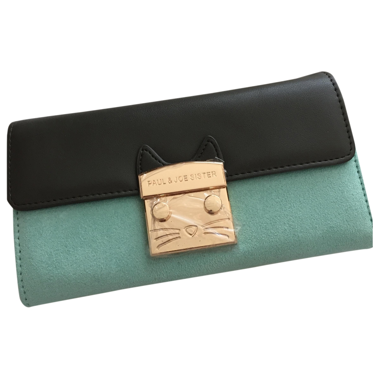 Paul & Joe Sister \N Anthracite Leather Purses, wallet & cases for Women \N