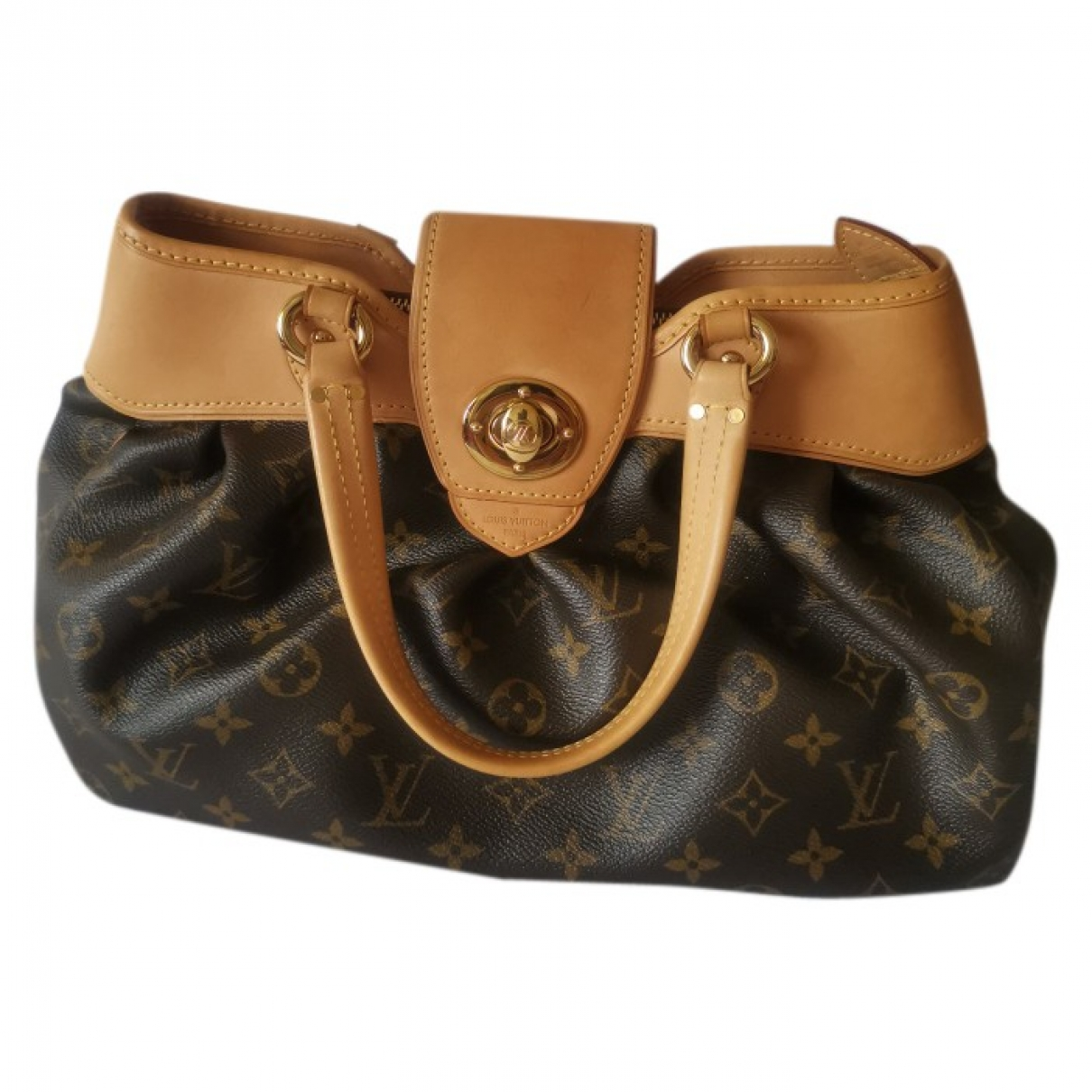 Louis Vuitton Boetie Brown Cloth handbag for Women \N