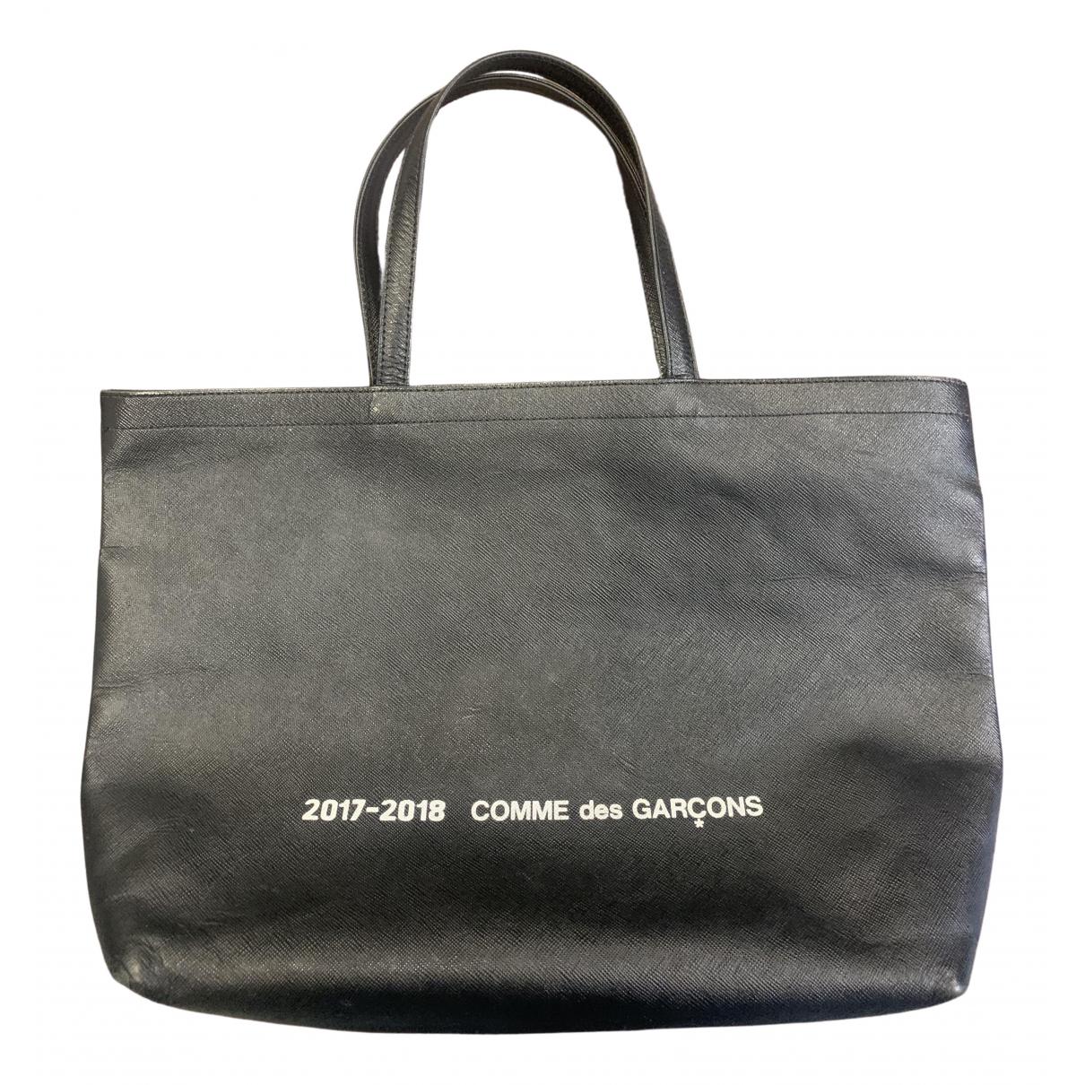 Comme Des Garcons \N Handtasche in  Schwarz Leder