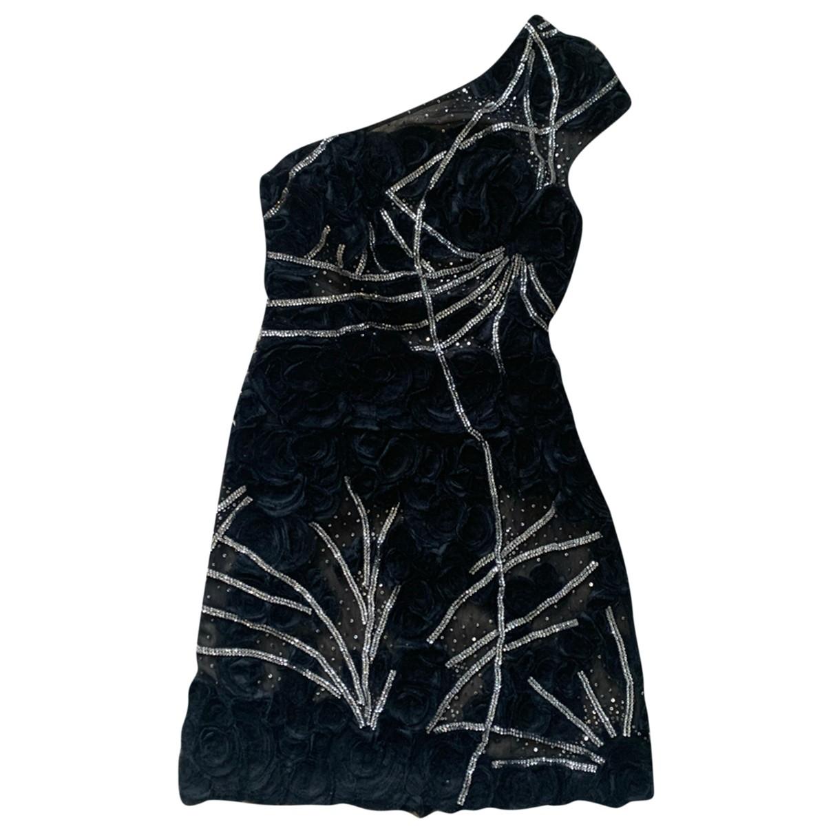 Zuhair Murad - Robe   pour femme en soie - noir