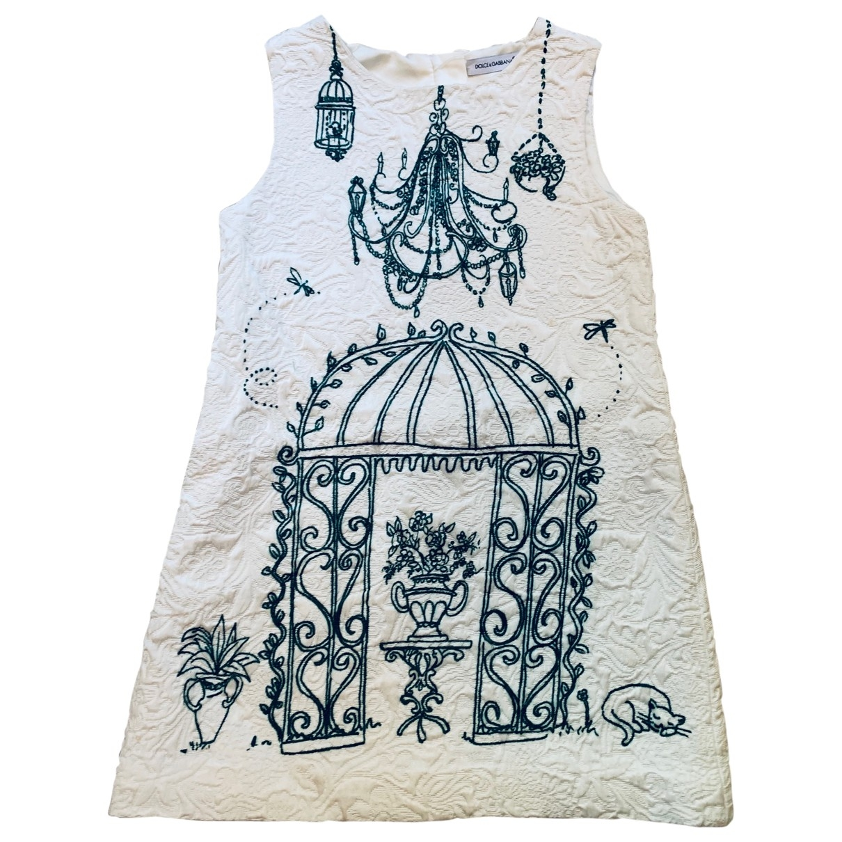 Dolce & Gabbana \N White Cotton dress for Kids 4 years - until 40 inches UK