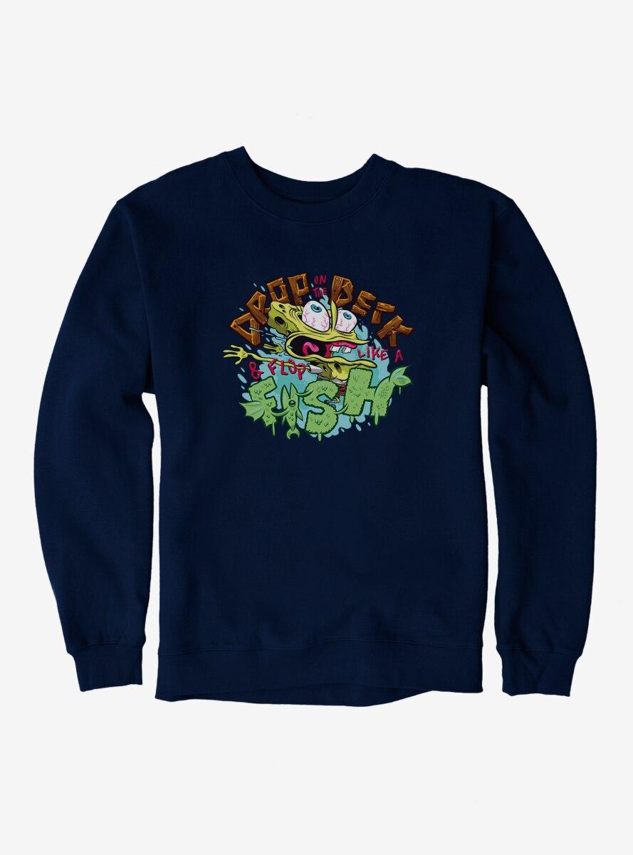 SpongeBob SquarePants Drop On The Deck and Flop Sweatshirt