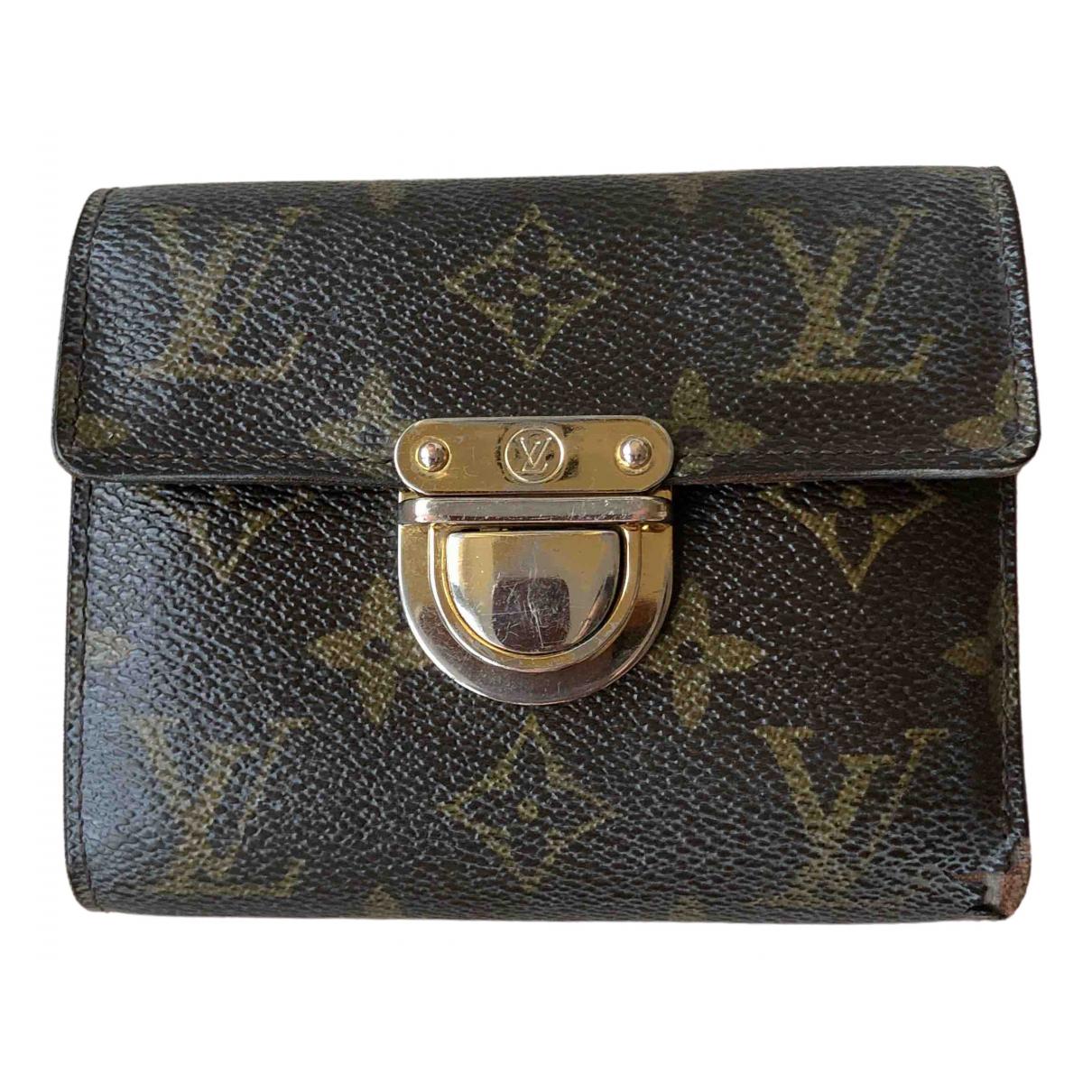 Louis Vuitton - Portefeuille Koala pour femme en cuir - marron