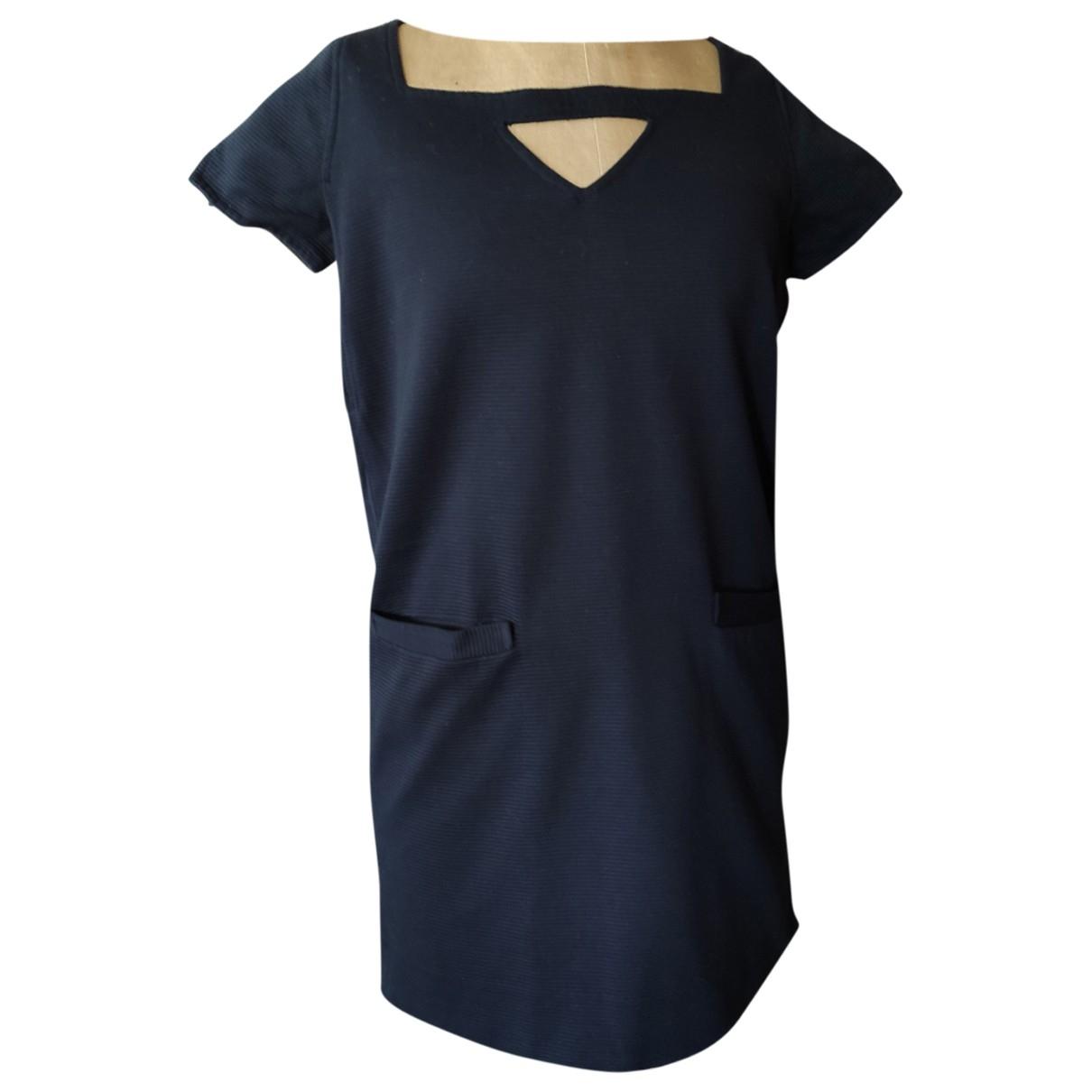 Le Mont Saint Michel \N Kleid in  Blau Baumwolle