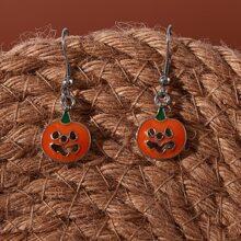 Pumpkin Drop Earrings