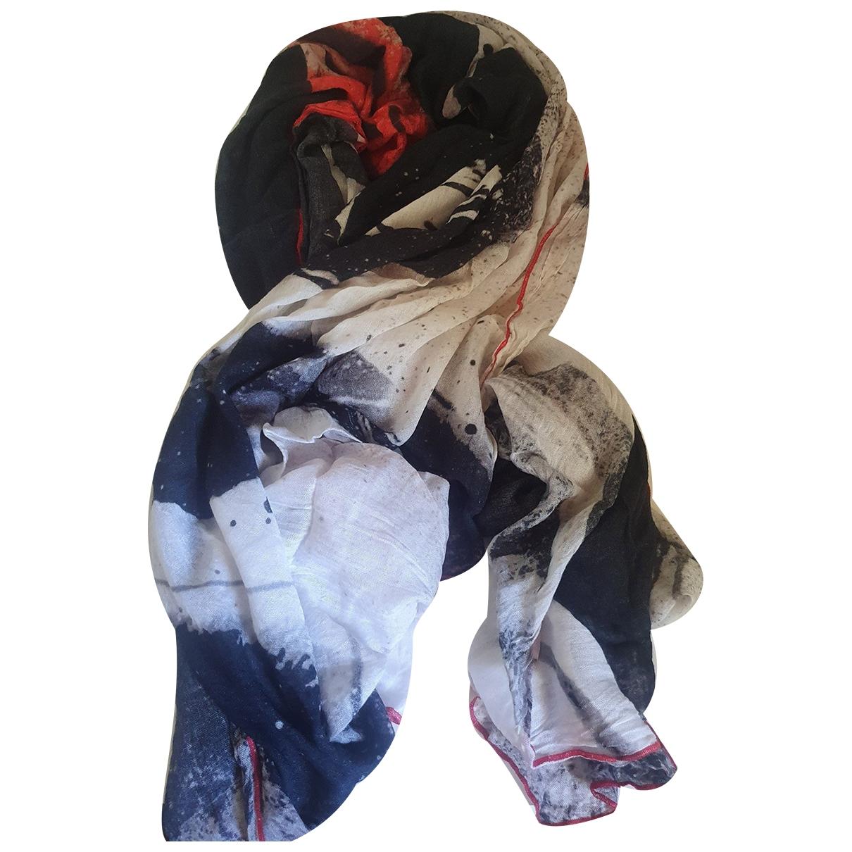 Ikks - Foulard   pour femme en coton - noir