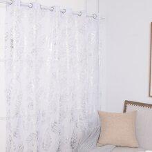 Vorhang mit Feder Muster