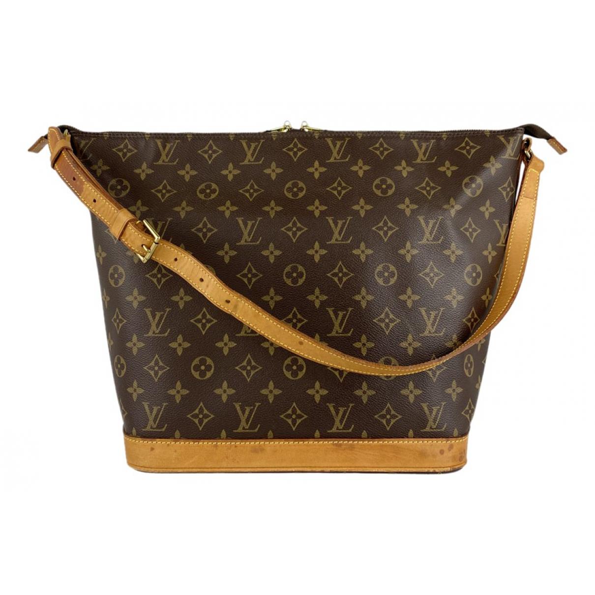 Louis Vuitton Amfar Brown Cloth handbag for Women N